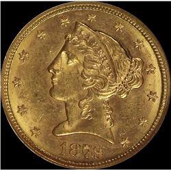 1879-S $5.00 GOLD LIBERTY