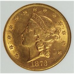1873 $20 GOLD