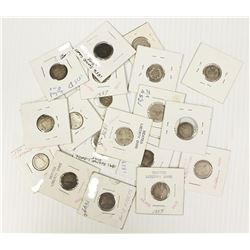 (20) PIECE LIBERTY SEATED DIMES