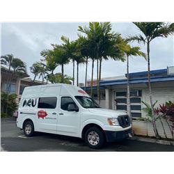 2015 Nissan NV2500 Commercial Cargo Van