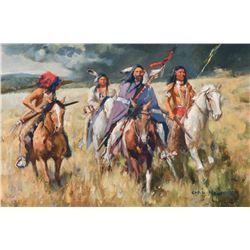 Carl Hantman - Plains Thunder