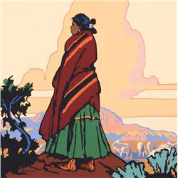 Bill Schenck - New Mexico Shepherdess
