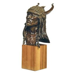 Daro Flood - Crow & Blackfoot Dancer Bust