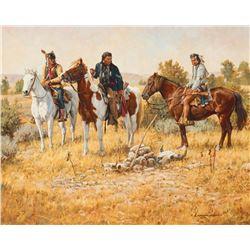 Steven Lang - The Sioux Fight Like Bulls