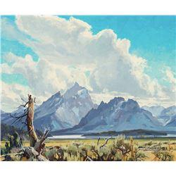 Conrad Schwiering - Mountain Clouds