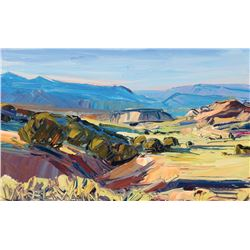 Louisa McElwain - High Desert Afternoon