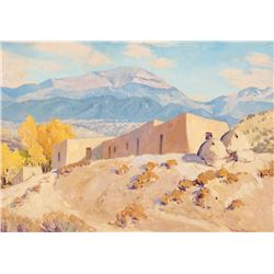 Sheldon Parsons - Santa Fe Baldy, Nambe