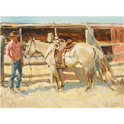 Robert Lougheed - The Zebra Dunn, New Mexico Cowboy