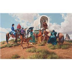 Ray Swanson - Gathering at Agathla