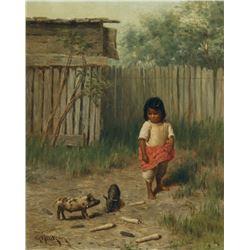 Grace Carpenter Hudson - Mannie's Little Girl