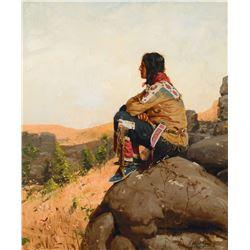 Gilbert Gaul - Mandan Sioux Warrior