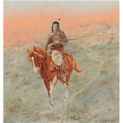 Olaf C. Seltzer - Red Horse