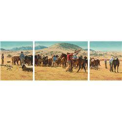 Bill Owen - CO Bar Roundup (Triptych)