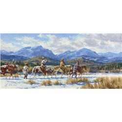 Charles Fritz - Bloods Traveling the Old North Trail