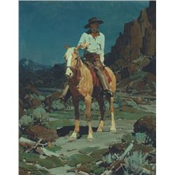 Frank Tenney Johnson - Tejon - My Palomino