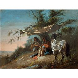 Alfred Jacob Miller - Two Arapaho