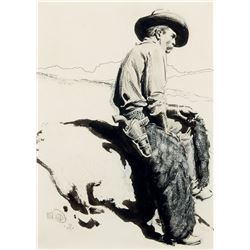 Maynard Dixon - Cowboy