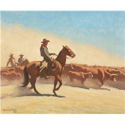 Maynard Dixon - Trail Herd