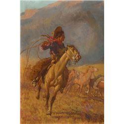 Maynard Dixon - Nez Perce Cowpuncher