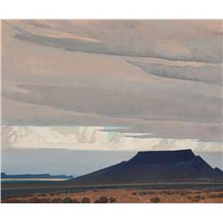 Maynard Dixon - Winter Landscape