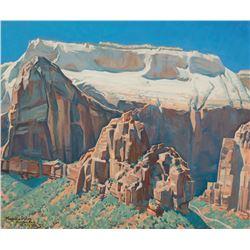 Maynard Dixon - West Walls of Zion