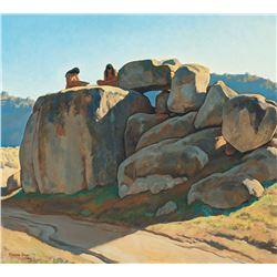 Maynard Dixon - Neolithic Afternoon