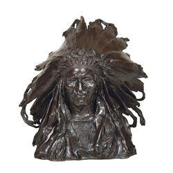 Adolph Weinman - Chief Black Bird Ogalala Sioux