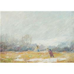 Joseph H. Sharp - The Blizzard
