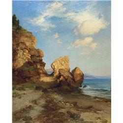 Thomas Moran - Castle Rock