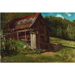 Albert Bierstadt - Cabin