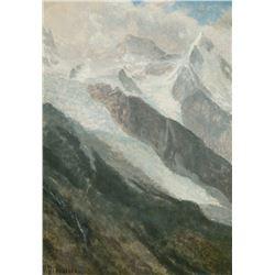 Albert Bierstadt - Mountainous Landscape