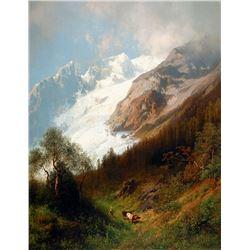 Hermann Herzog - Glacier Meadow