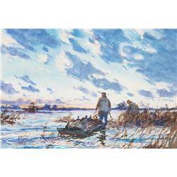 John Whorf - Marsh at Sunrise