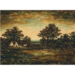 Ralph Blakelock - The Indian Encampment
