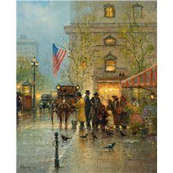 G. Harvey - The Street Vendor