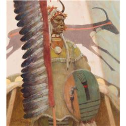 Kenneth Riley - Study for Plains Motif