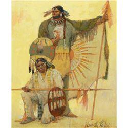 Kenneth Riley - Study for Mandan Gold