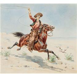 Herman Hansen - Cowboy with a Lasso