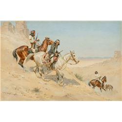 Herman Hansen - Apache Scouts Trailing