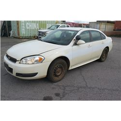 2014 Chevy Impala, Runs & Drives - See Video (Former Government Car, Plates in Storage