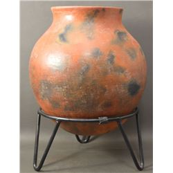 PAPAGO INDIAN POTTERY OLLA