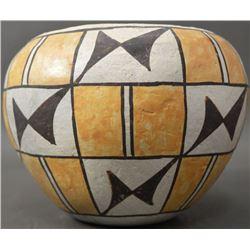 ACOMA INDIAN POTTERY JAR