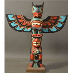 NORTH WEST COAST INDIAN TOTEM POLE (JACOBSON)