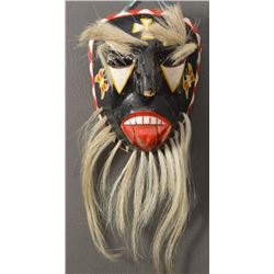 YAQUI INDIAN WOODEN MASK