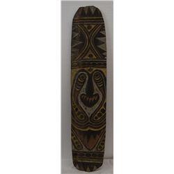 NEW GUINEA WOODEN PLAQUE