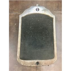 Old, Willys Knight Radiator
