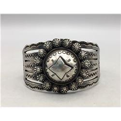 Heavy Handmade Vintage Bracelet