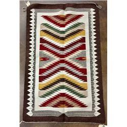 Eye Dazzler Navajo Textile by Lena Tahe