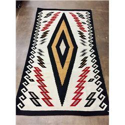 Large Sized Vintage Navajo Textile