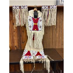 Powwow Beaded Dance Outfit